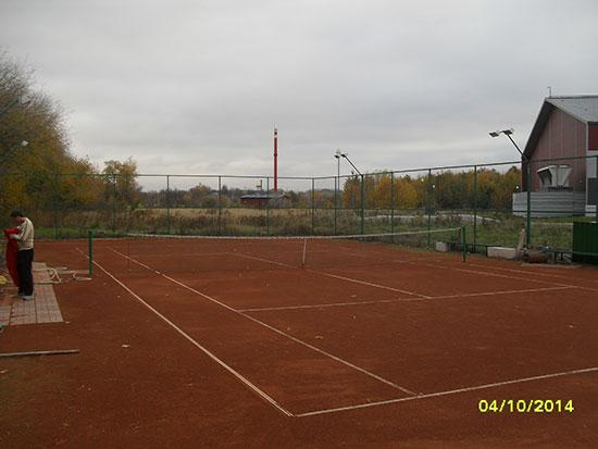 Теннисные корты в г. Муроме, парк 50летия